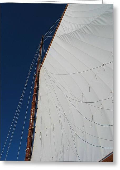 Greeting Card featuring the photograph Sail Away With Me by Photographic Arts And Design Studio
