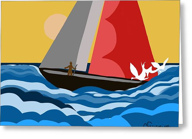 Sail Day Greeting Card