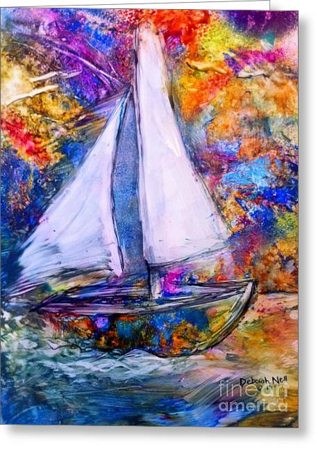 Sail On Greeting Card