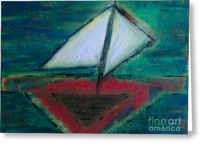 Sailboat Greeting Card