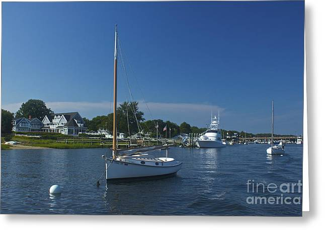 Sailboat Ride Greeting Card by Amazing Jules