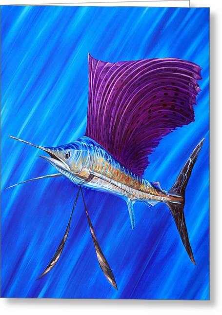 Sailfish Greeting Card