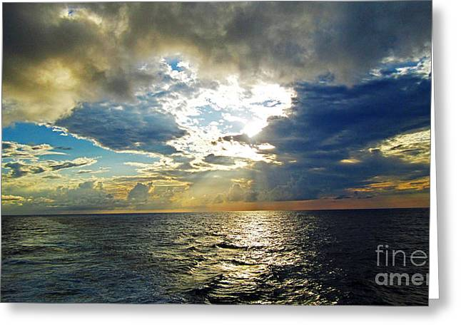 Sailing By Heaven's Door Greeting Card