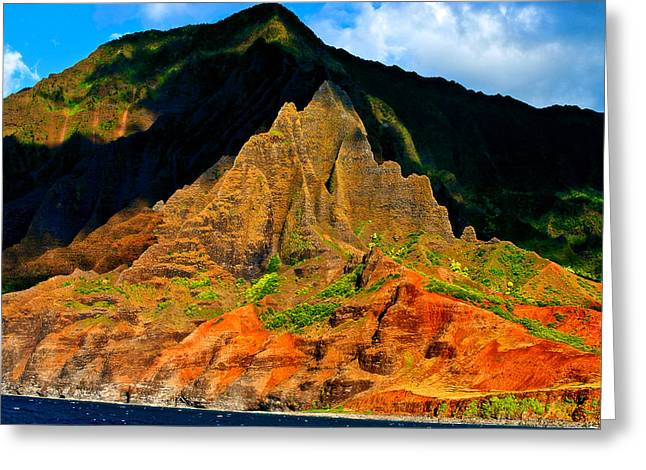Sailing By Kauai Greeting Card