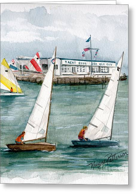 Sailing Class  Greeting Card