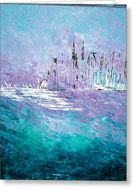 Sailing South - Sold Greeting Card