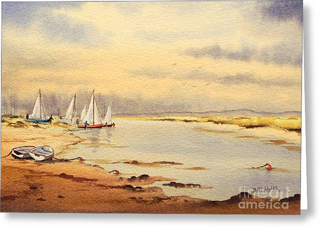 Sailing Time Greeting Card by Bill Holkham