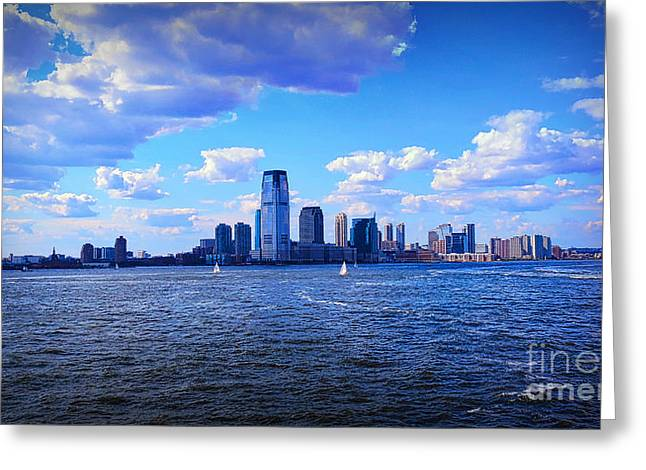 Sailing To Shore Greeting Card by Terry Wallace