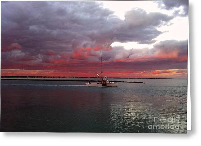 Sailors Delight 2 Greeting Card by Amazing Jules