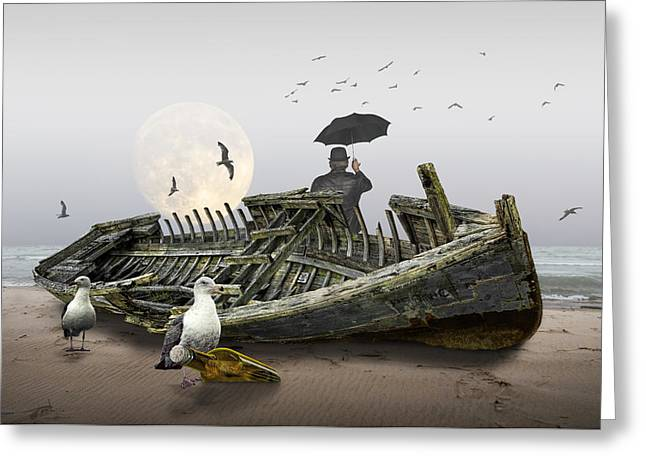 Sailor's Dream Or Nightmare Greeting Card
