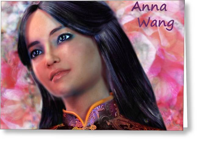 Saint Anna Wang/2 Greeting Card