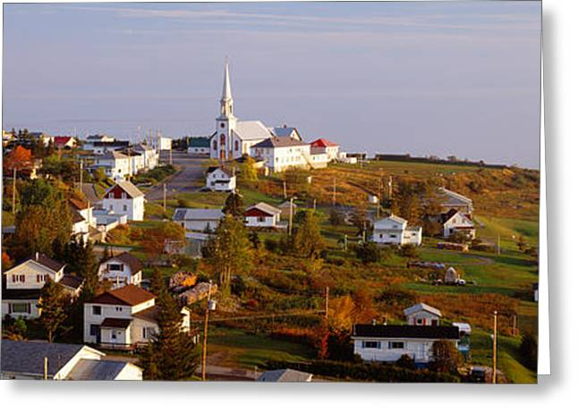 Saint Anne Des Monts, Gaspe Peninsula Greeting Card
