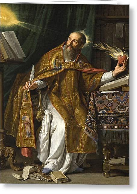 Saint Augustine Greeting Card