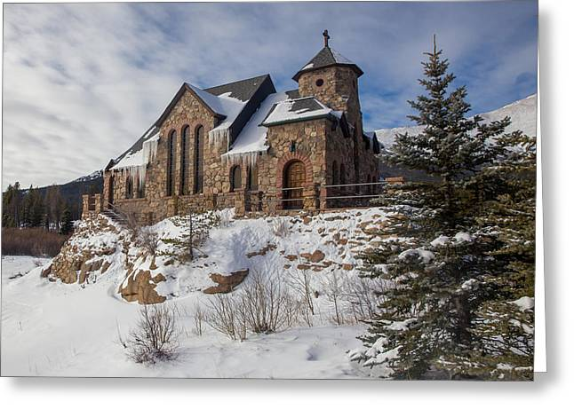 Saint Catherine Of Siena Chapel At The St. Malo Retreat Center O Greeting Card
