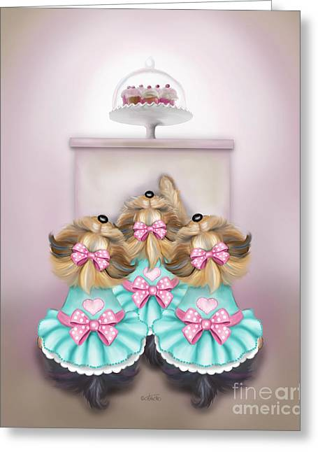 Saint Cupcakes Greeting Card