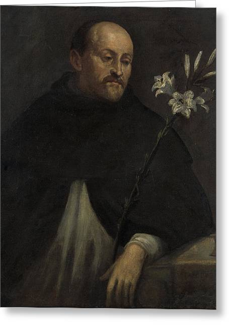 Saint Dominic, Anonymous Greeting Card