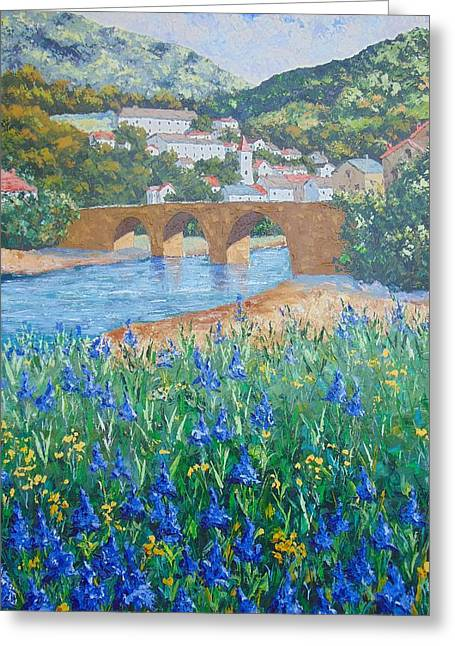 Saint Emilie South Of France Greeting Card
