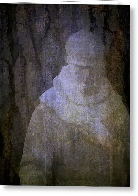 Saint Francis Greeting Card by Pamela Cooper
