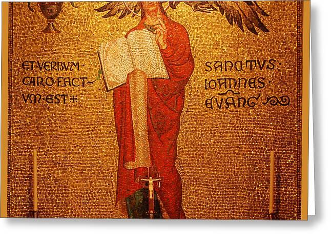 Saint John Altar Greeting Card