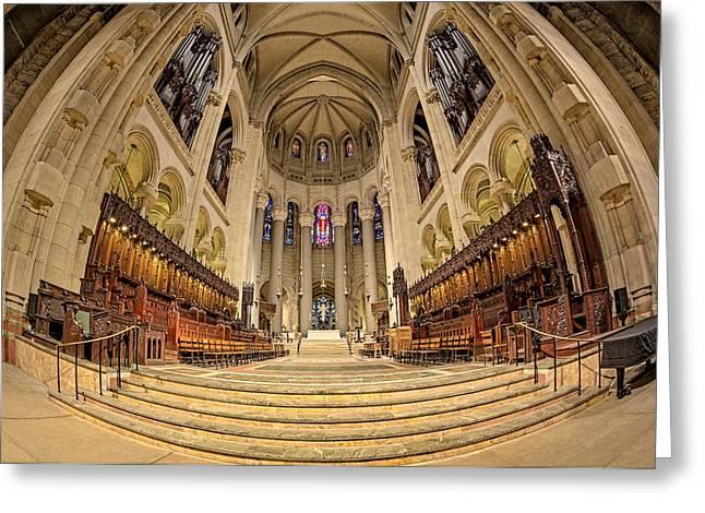 Saint John The Divine Cathedral High Altar  IIi Greeting Card