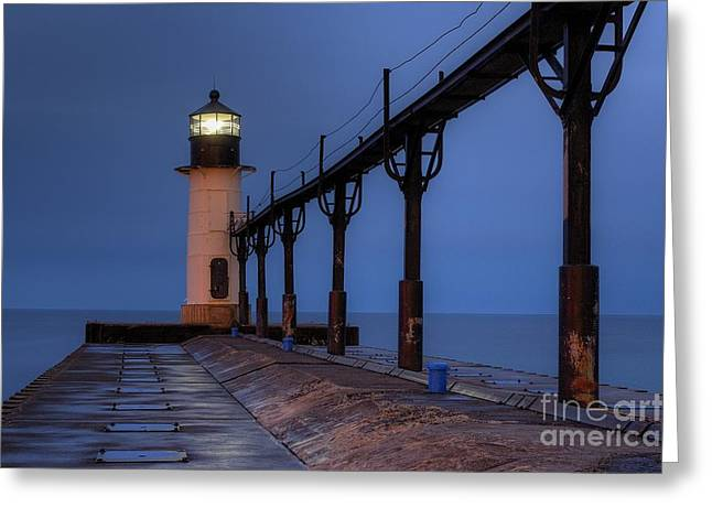 Saint Joseph Lighthouse Greeting Card by Twenty Two North Photography