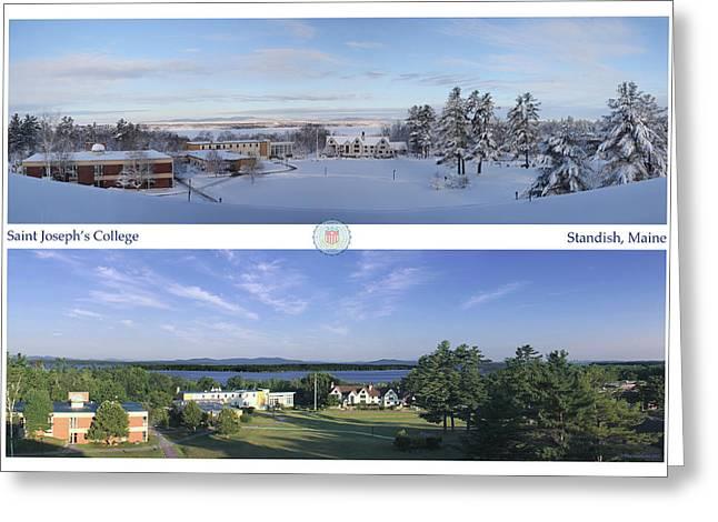 Saint Joseph's College 2013 Greeting Card by John Hufstader
