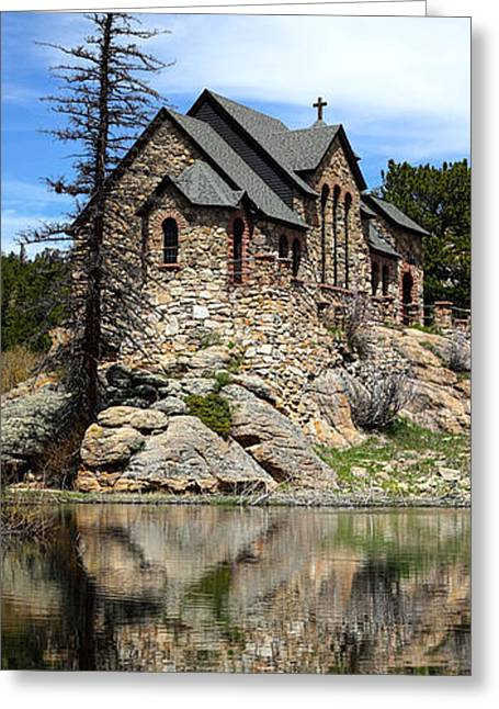 Saint Malo Chapel Greeting Card by Shane Bechler