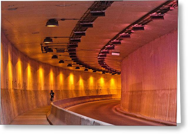 Saint-marc Tunnel Scene 1 Greeting Card by Eric Soucy