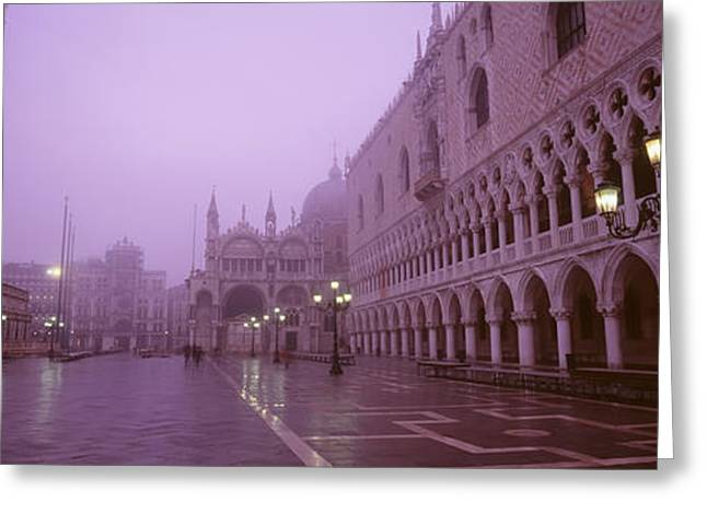 Saint Marks Square, Venice, Italy Greeting Card