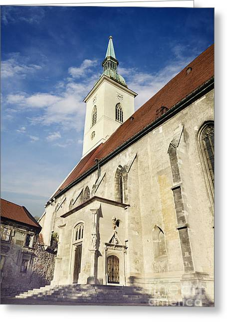 Saint Martins Cathedral  Greeting Card by Jelena Jovanovic