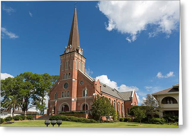 Greeting Card featuring the photograph Saint Mary Magdalen Church by Gregory Daley  PPSA