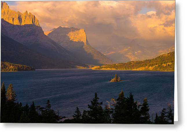 Saint Mary Sunrise Greeting Card by Joseph Rossbach