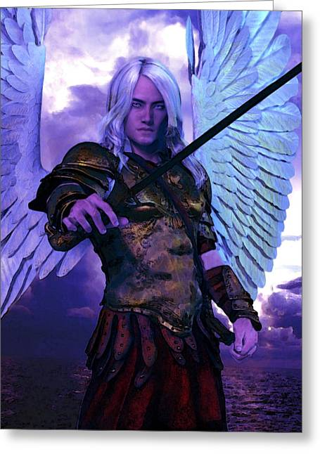 Saint Michael The Archangel/2 Greeting Card