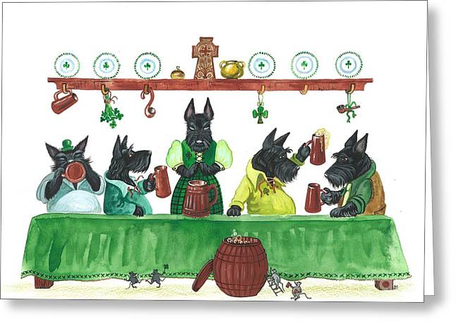 Saint Patricks Day Macduff Greeting Card
