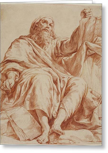 Saint Paul Giuseppe Maria Crespi, Italian Bolognese Greeting Card