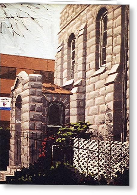 Saint Paul Greeting Card by Paul Guyer