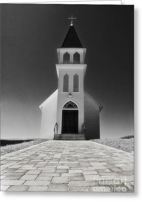 Greeting Card featuring the photograph Saint Peter Church by Joseph Hollingsworth