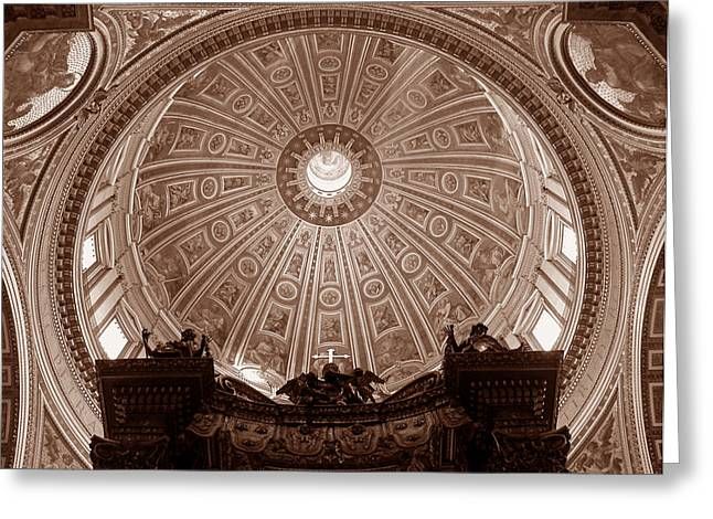 Saint Peter Dome Greeting Card