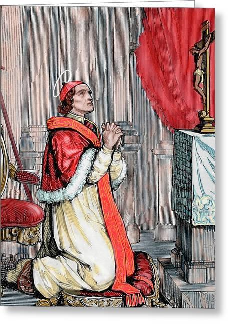 Saint Pius V (1504-1572 Greeting Card