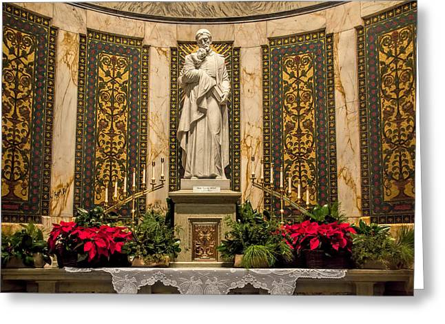 Saint Vincent Depaul Chapel Greeting Card