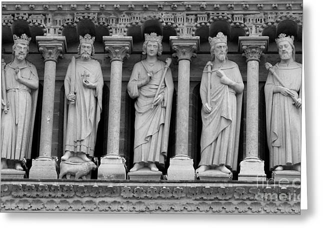 Saints Of Notre Dame  Greeting Card