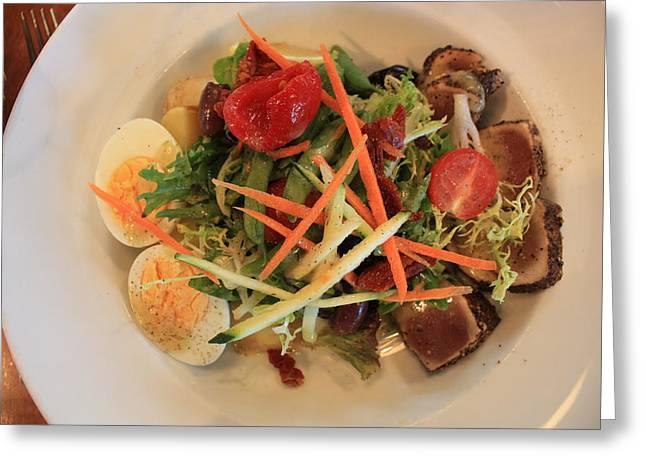 Salade Nicoise Greeting Card