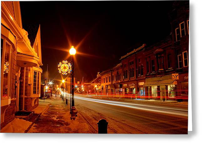Salem Ohio Christmas Greeting Card
