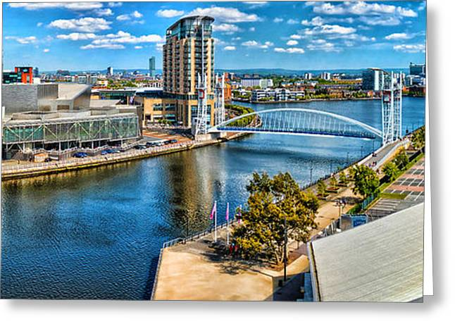 Salford Quays Greeting Card