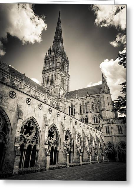 Salisbury - For Eugene Atget Greeting Card