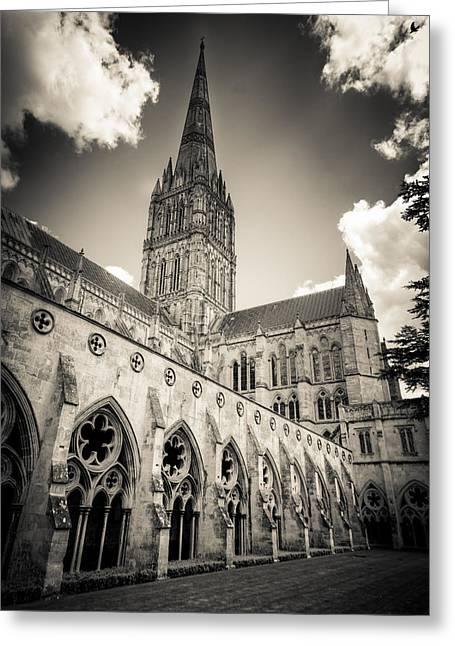 Salisbury - For Eugene Atget Greeting Card