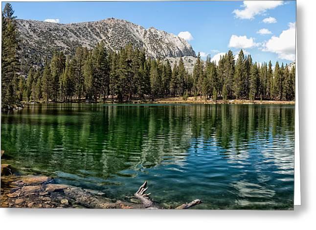 Sallie Keyes Lake Greeting Card by Shauna Milton