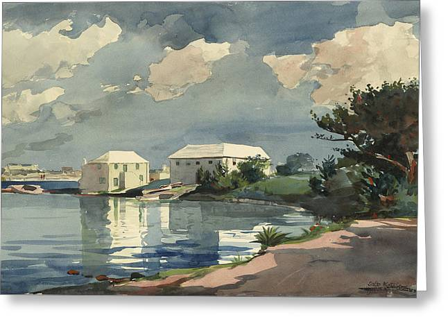 Salt Kettle Bermuda Greeting Card by Winslow Homer