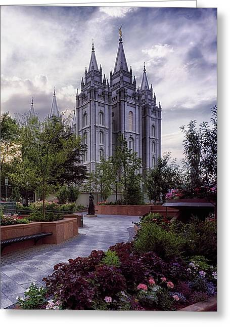 Salt Lake Temple Greeting Card
