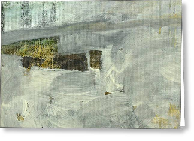 Greeting Card featuring the painting Salt Marsh C2013 by Paul Ashby